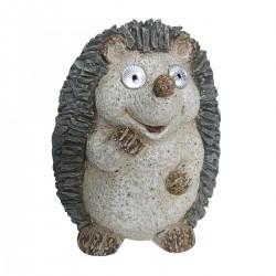 """15"""" Solar Hedgehog Statue"""