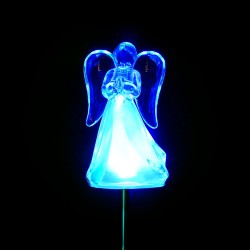 Solar Angel Garden Stake - Display of 16