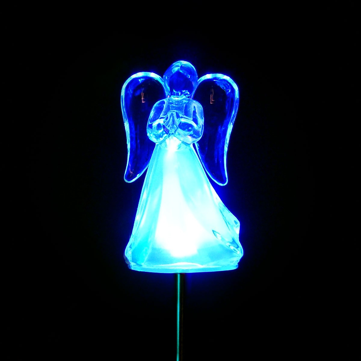 Solar Angel Garden Stake - Display of 16 & Wholesale Solar Decor | Alpine Corporation