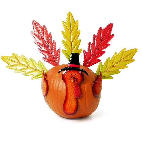 Metal Pumpkin Leaf Turkey Kit (Pumpkin Not Included)