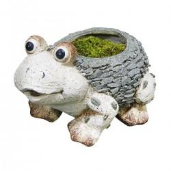 "11"" Frog Planter"
