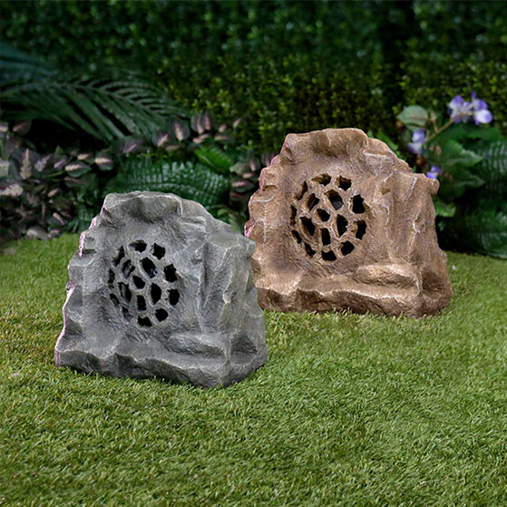 Solar Bluetooth Enabled Rock Speaker